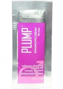 Doc Johnson Plump Enhancing Cream For Men 0.25oz (100 Per Bowl)