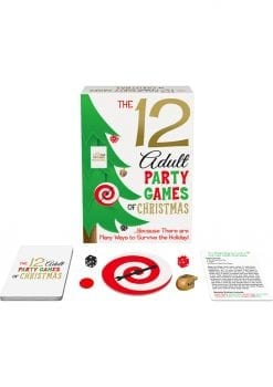 12 Adult Party Games Of Christmas