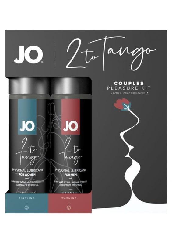 JO 2 To Tango Couples Pleasure Kit Lubricant 2oz