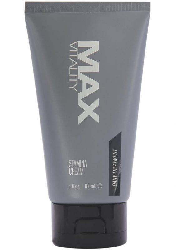 Max Vitality Stamina Treatment Cream 3oz