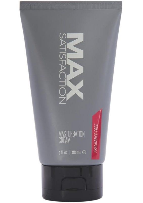 Max Satisfaction Masturbation Cream 3oz