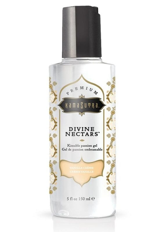 Kama Sutra Divine Nectars Body Glide Vanilla Crème 5oz