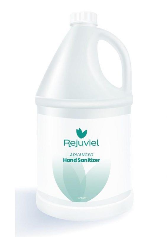 Rejuviel Sanitizer Hand Gel 1 Gallon (4 Per Case Without Pump)