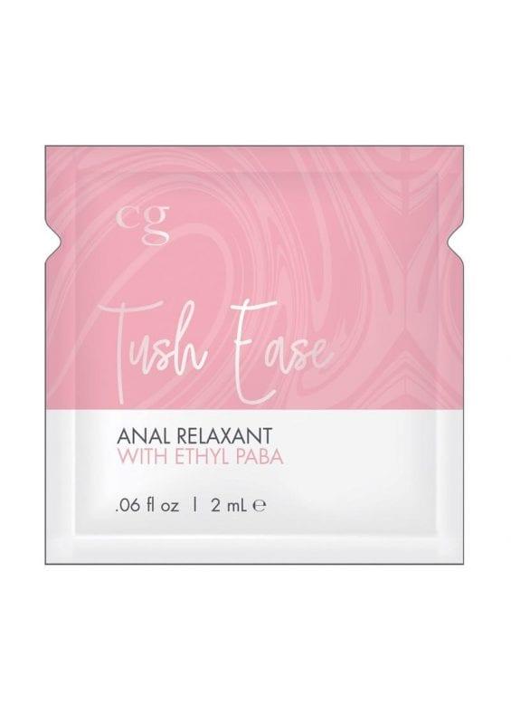 CG Tush Ease Anal Gel .06 Oz - 24/bag