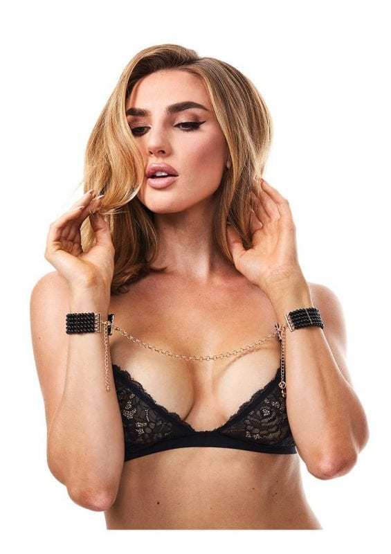 Secret Kisses Mystic Cuffs - Onyx