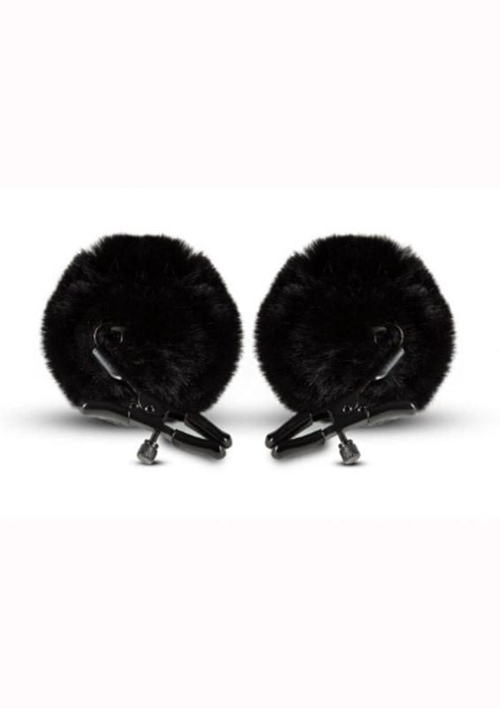 Noir Pom Adjustable Nipple Clamps - Black