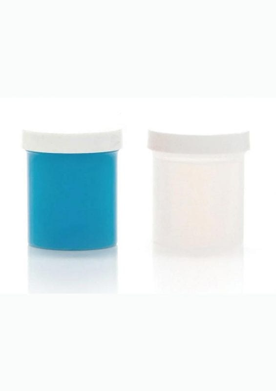 Clone-A-Willy Silicone Refill - Glow In The Dark - Blue