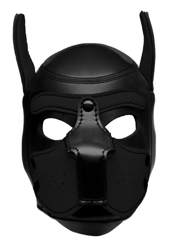 Master Series Neoprene Puppy Hood - Black