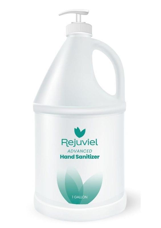 Rejuviel Sanitizer Hand Sanitizer 1 Gallon (4 Per Case With 1 Pump)