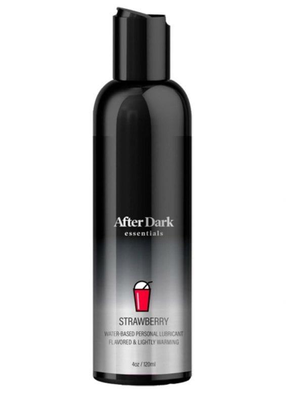 After Dark Essentials Strawberry Water Based Flavored Lubricant 4oz