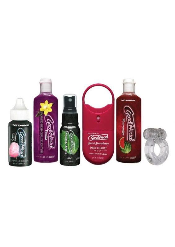 Goodhead Sensations Kit Flavored Oral Enhancers (6 Per Pack) - Assorted