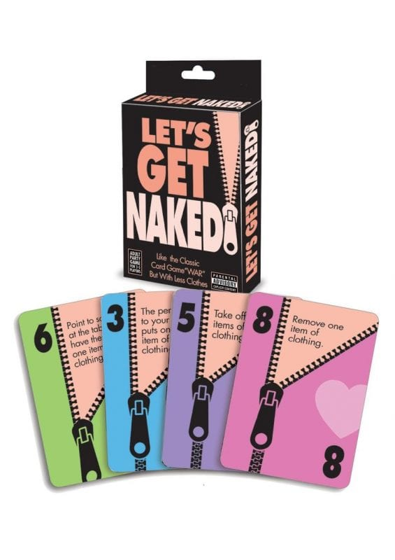 Let`s Get Naked Card Game