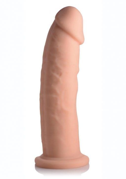 FleshStixxx Silicone Bendable Dong 9in - Vanilla