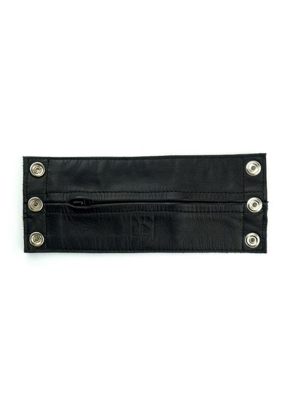 Prowler Red Leather Wrist Wallet - Large - Black/Green