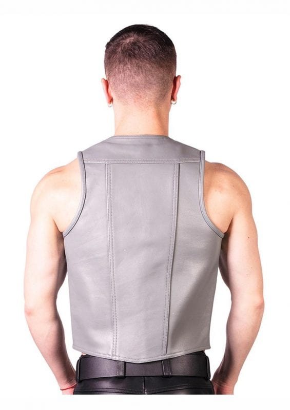 Prowler Red Monochrome Waistcoat - Large - Gray