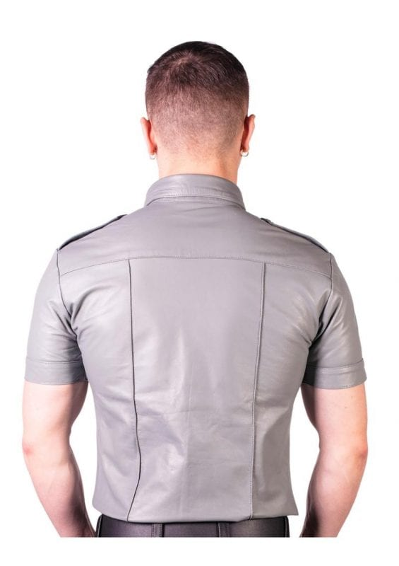 Prowler Red Slim Fit Police Shirt - 2XLarge - Gray