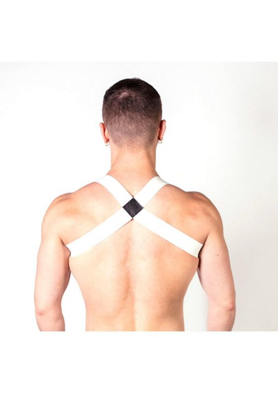 Prowler Red Sports Harness Lite - Small/Medium - White