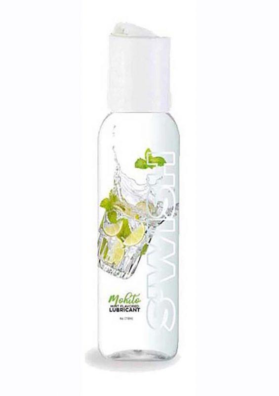 Swish Mojito Water Based Flavored Lubricant Mint 2oz