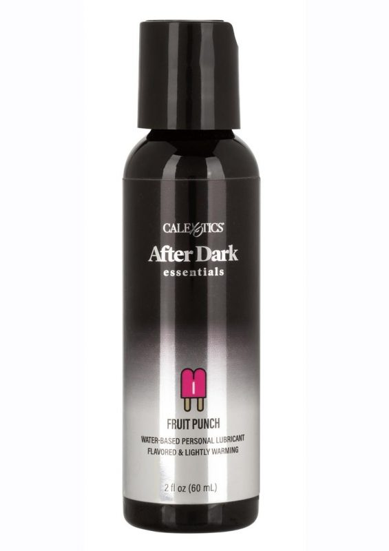 After Dark Essentials Water-Based Flavored Personal Warming Lubricant Fruit Punch 2oz