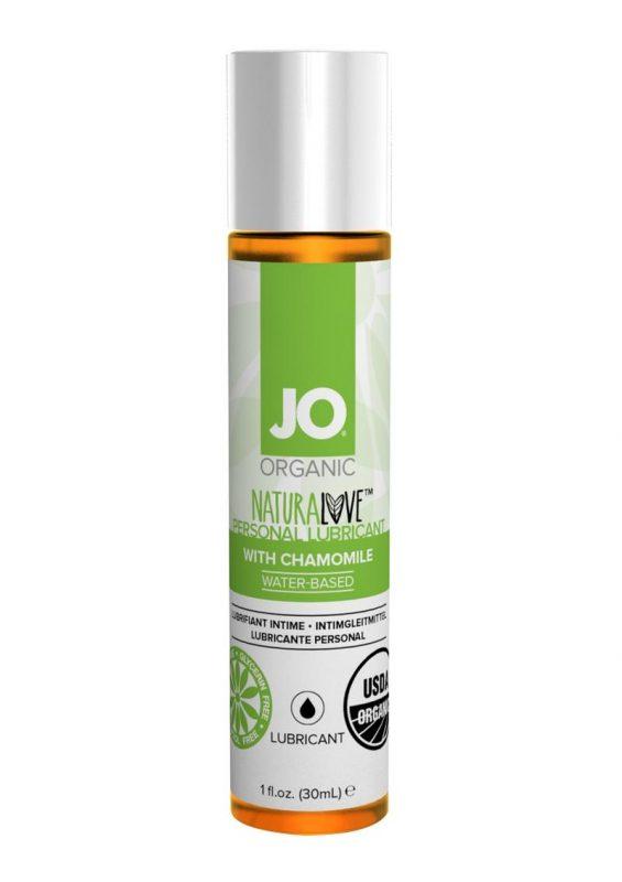 JO Naturalove Water Based Lubricant Chamomile 1oz