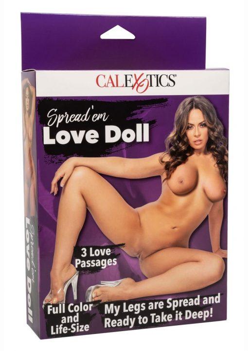 Spread`em Inflatable Love Doll - Vanilla